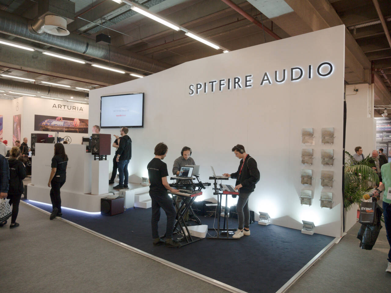 musikmesse 2016 Rock oN ショーレポート SPITFIRE AUDIO