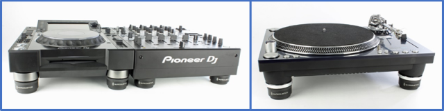 isoacoustics-Iso-puck-Isolate-DJ-Gear-and-speakers