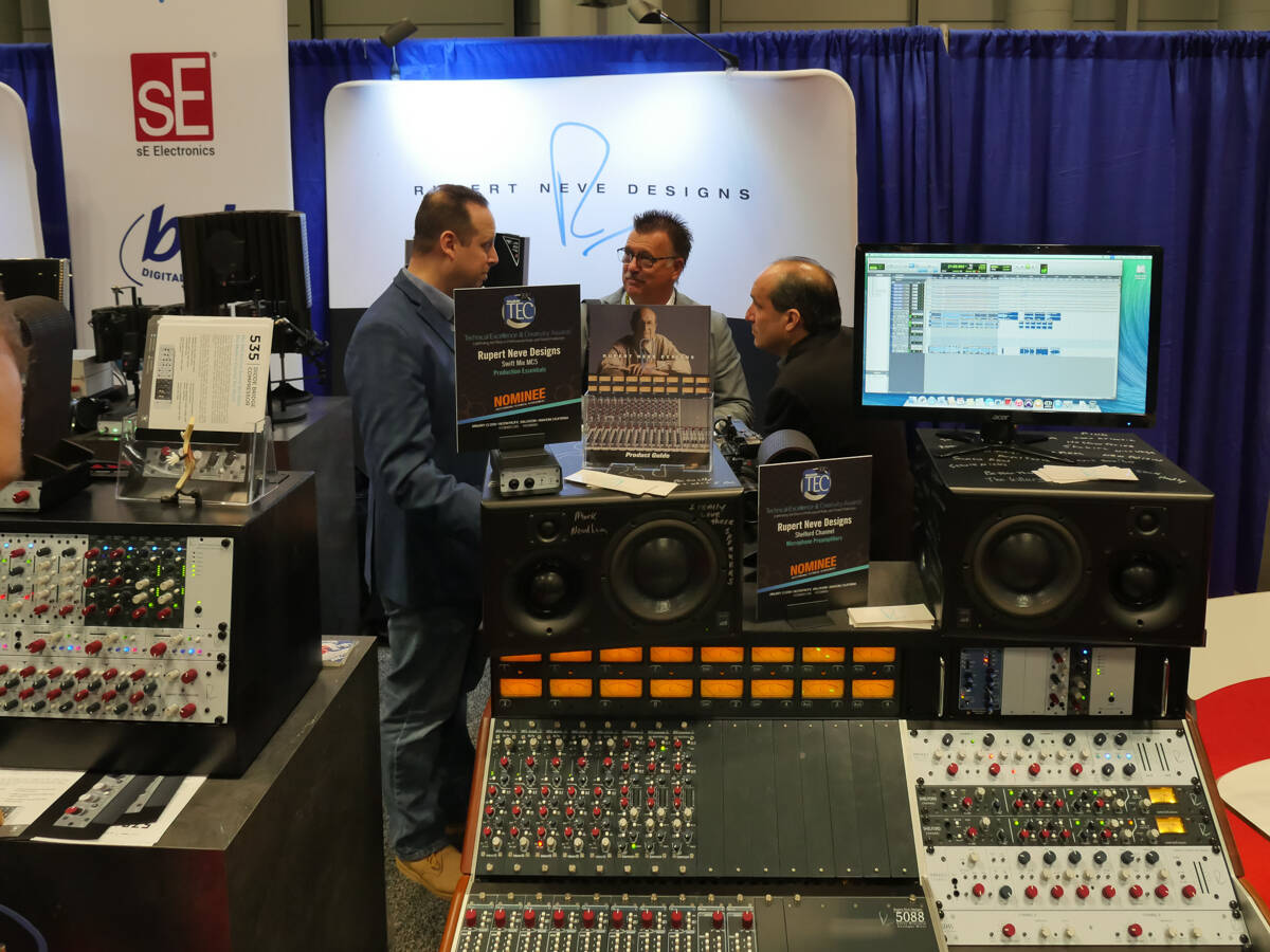 AES 2017 Rupert Neve Design by Rock oN