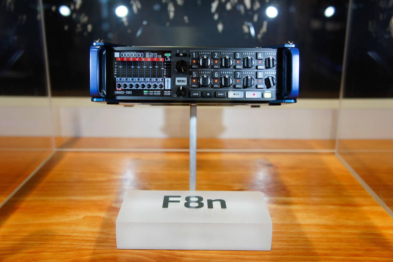 NAB2018 ZOOM新製品F8n