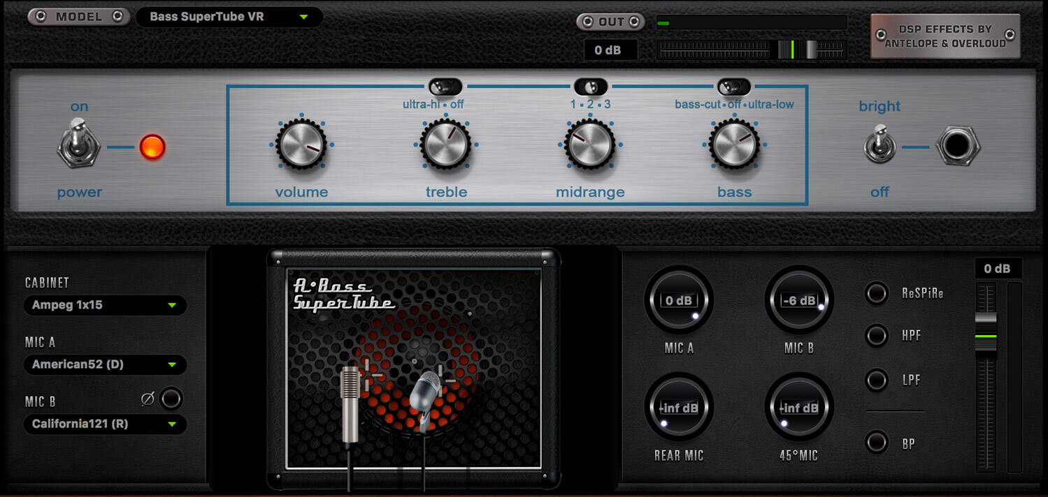 Bass SuperTube VR amplifie
