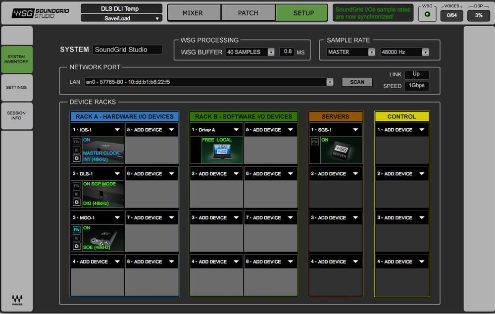 soundgrid-studio-application