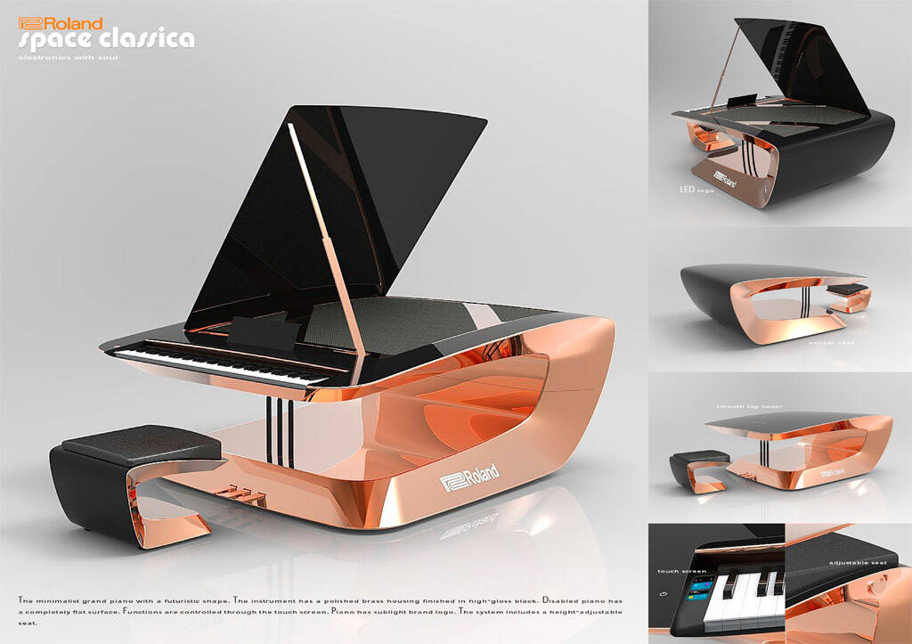 roland digital piano award 7 rock on company. Black Bedroom Furniture Sets. Home Design Ideas