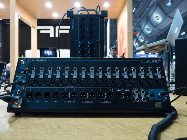 Prolight + Sound 2016 RockoN ショーレポート Allen & Heath