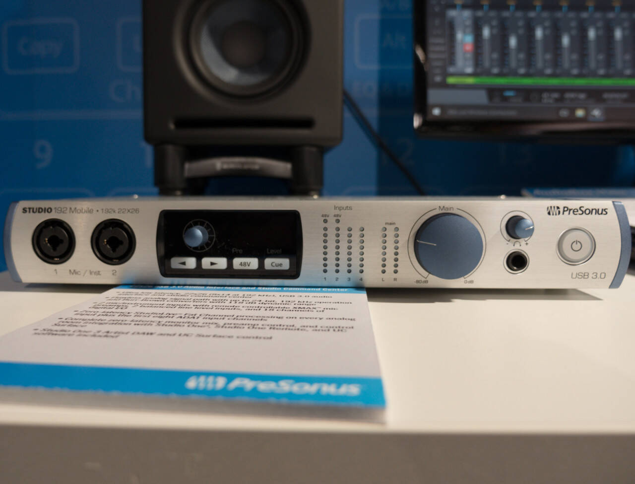 musikmesse 2016 Rock oN ショーレポート Presonus