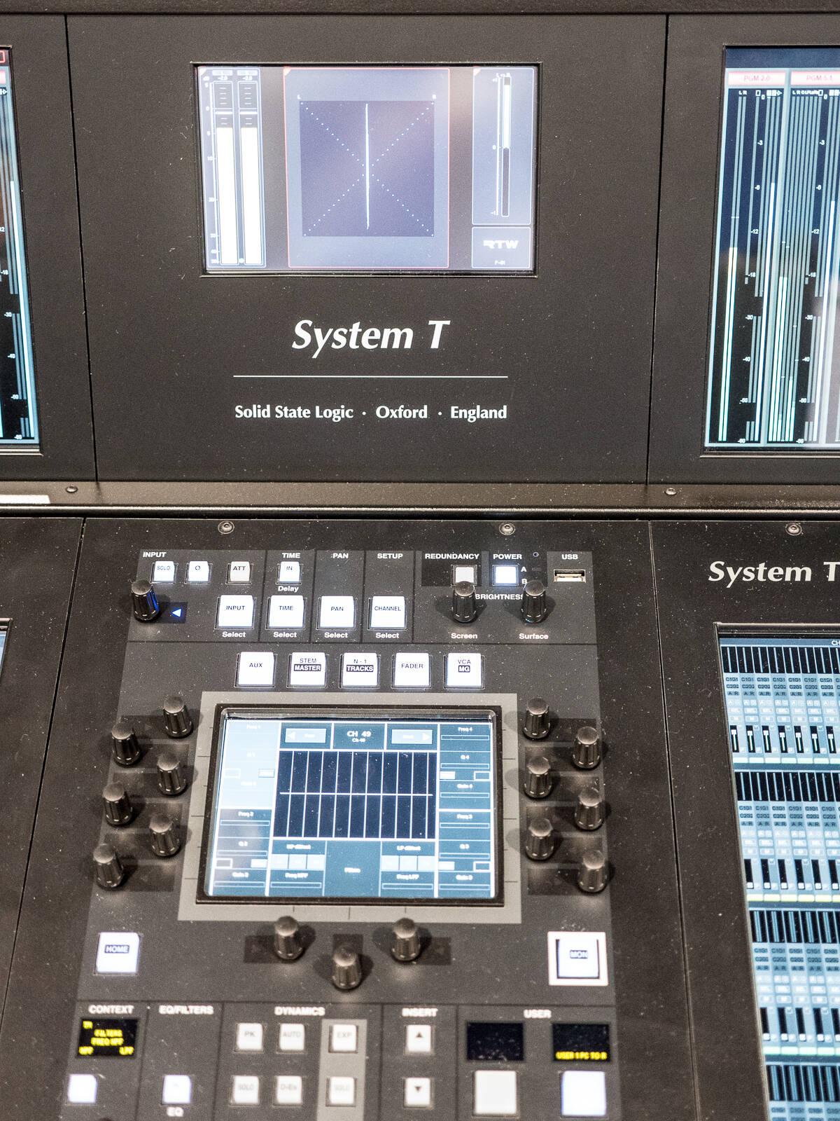 nab show 2016 RockoN ショーレポート Solid State Logic system-T