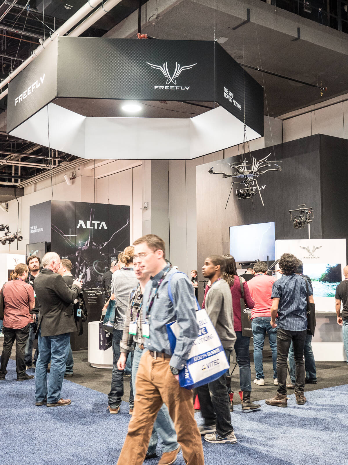 Freefly Booth - NAB 2016