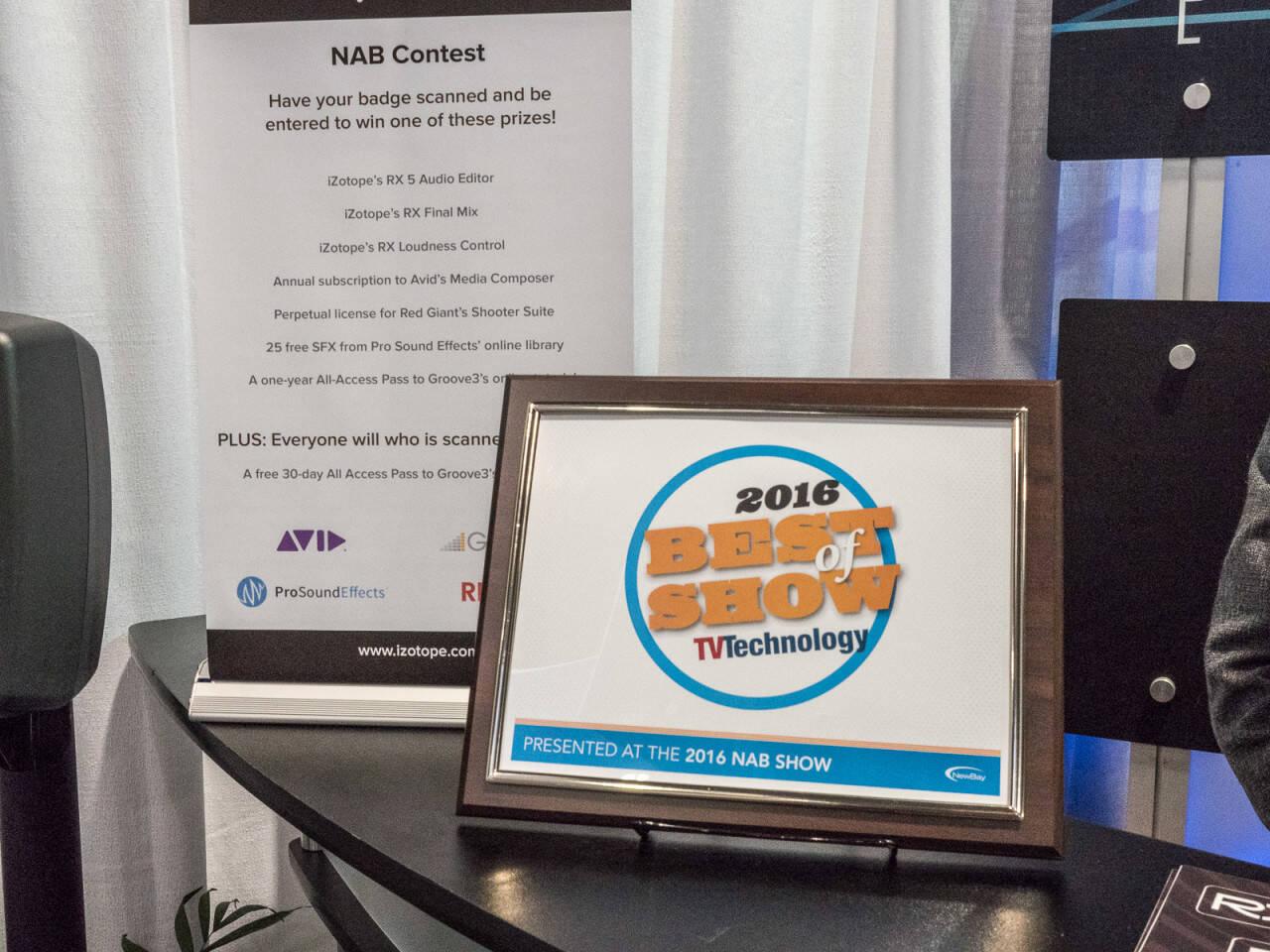 NAB2016 RockoNショーレポート iZotope