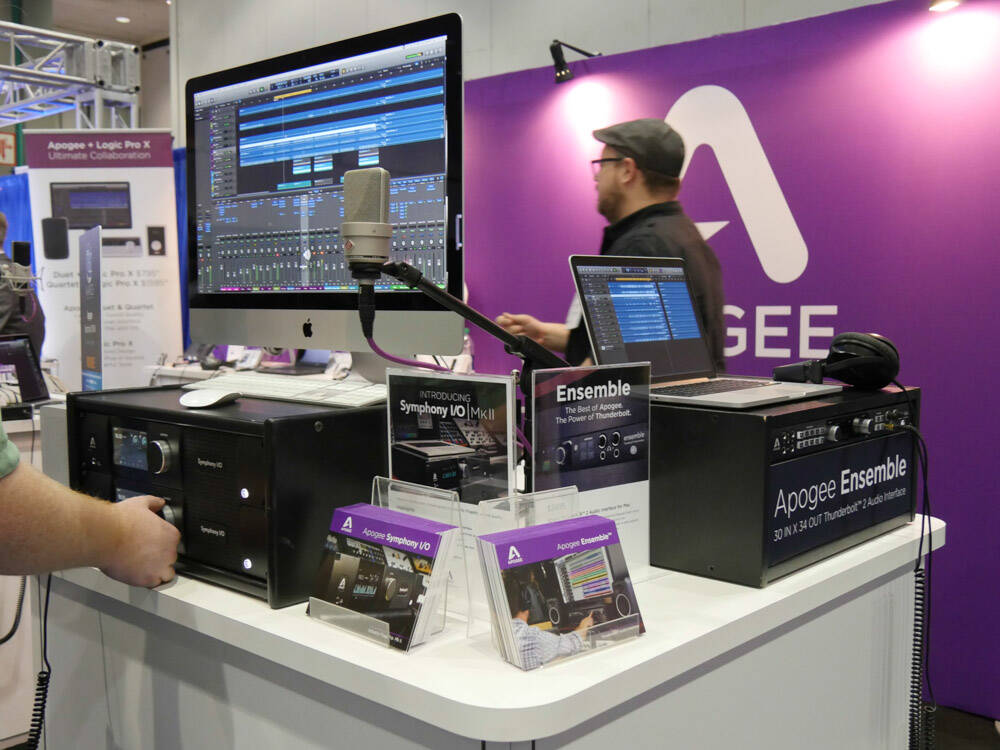 AES2016 Rock oN Show report Apogee