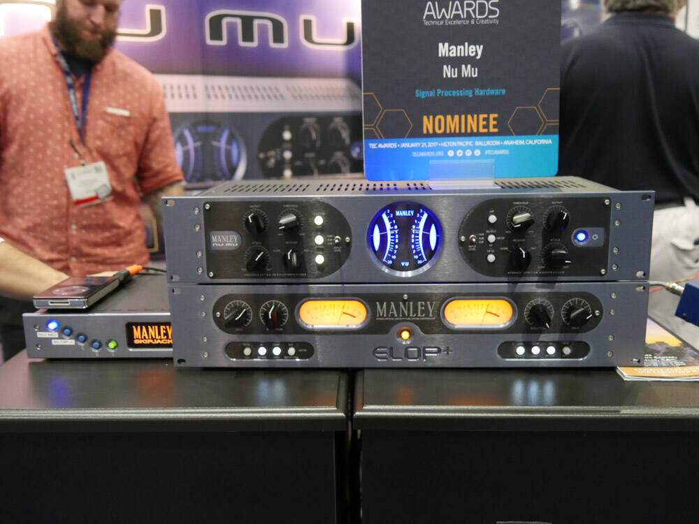 AES2016 Rock oN Show report Manley