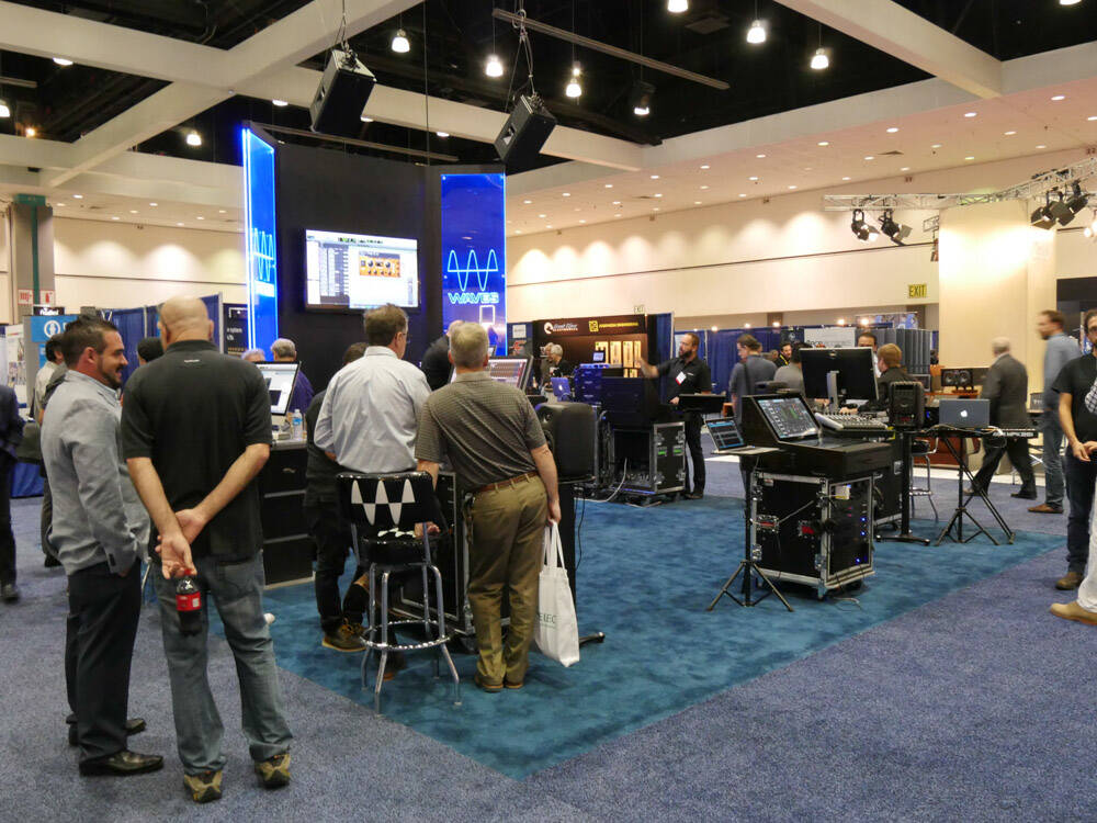 AES2016 Rock oN Show report WAVES