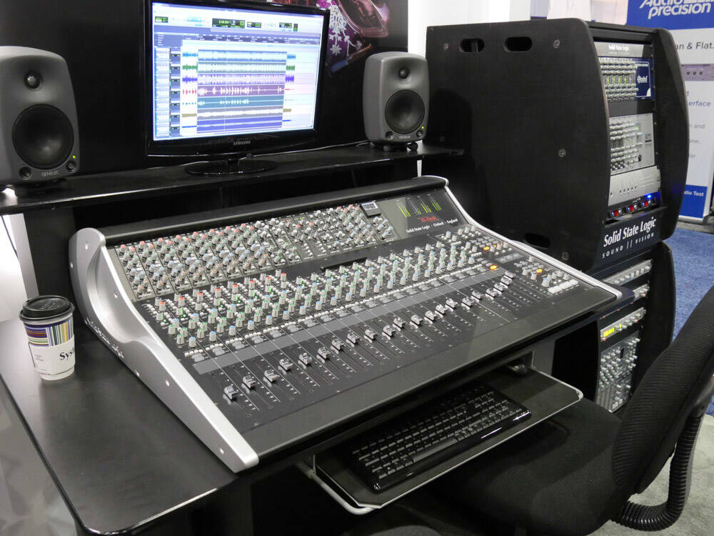 AES2016 Rock oN Show report SSL