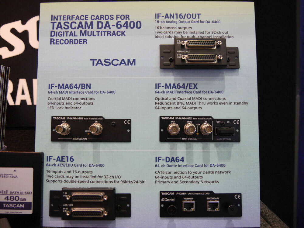 AES 2016 Rock oN Show Report TASCAM