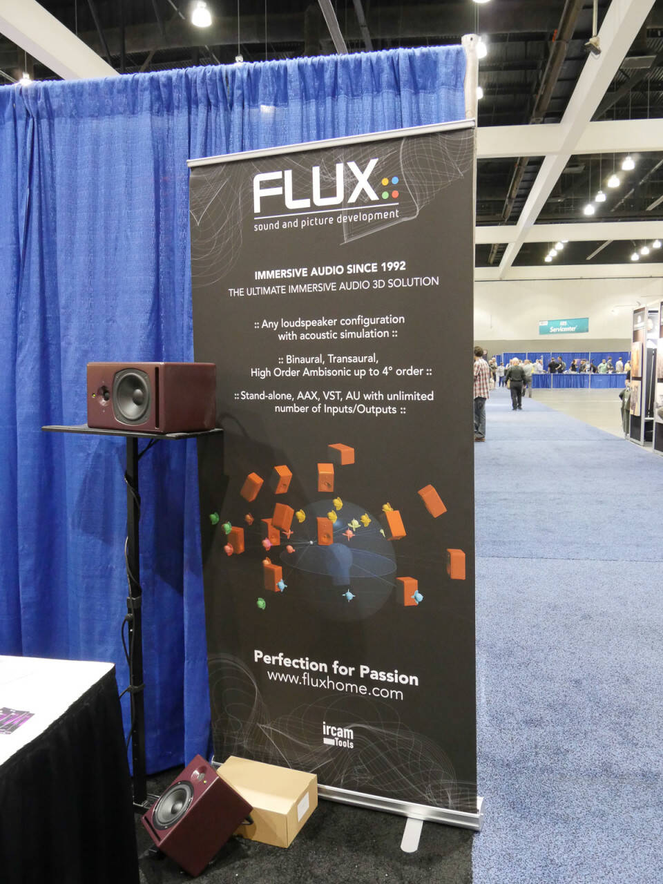 AES 2016 Rock oN Show Report Flux