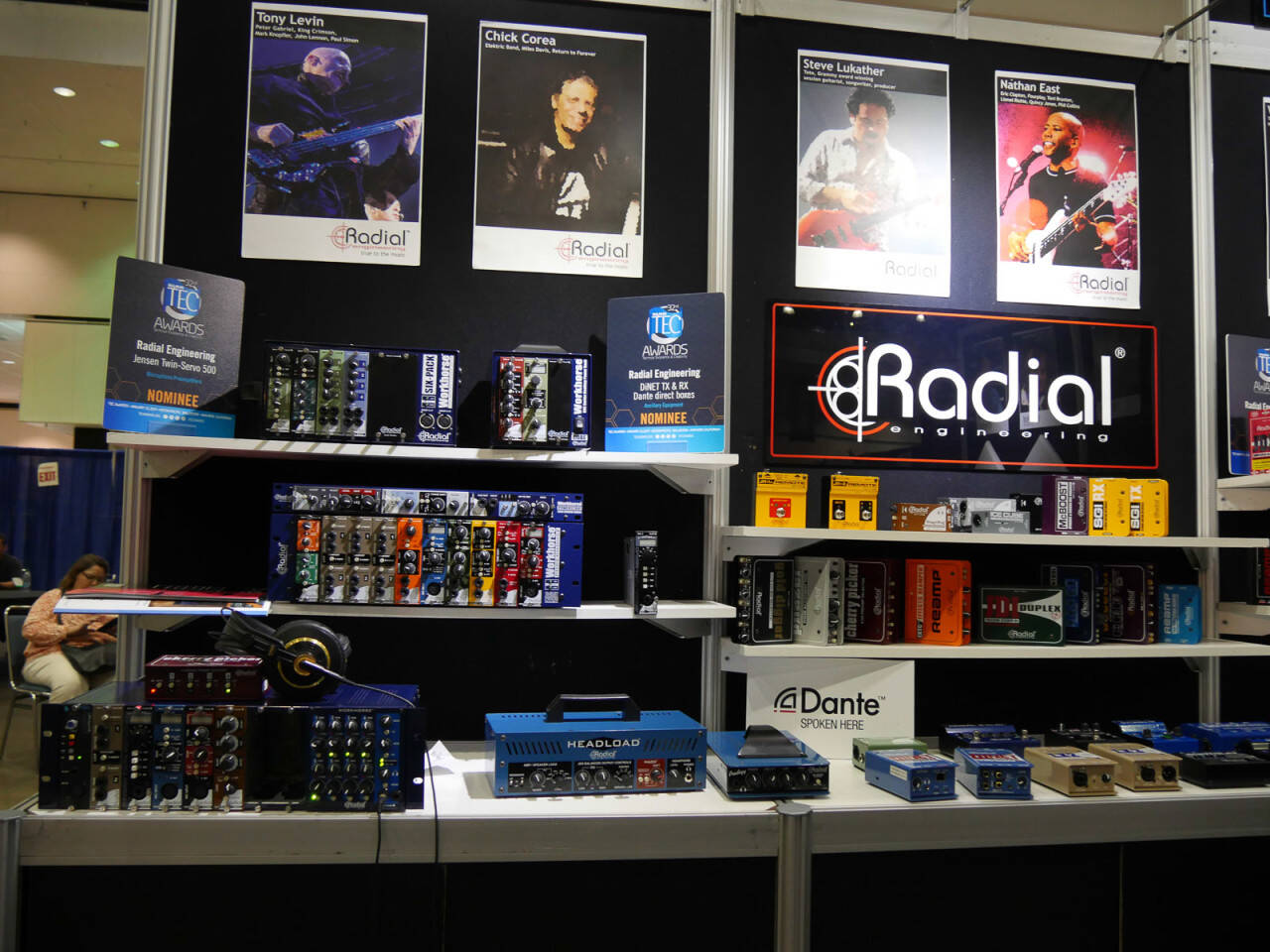 AES 2016 Rock oN Report Radial