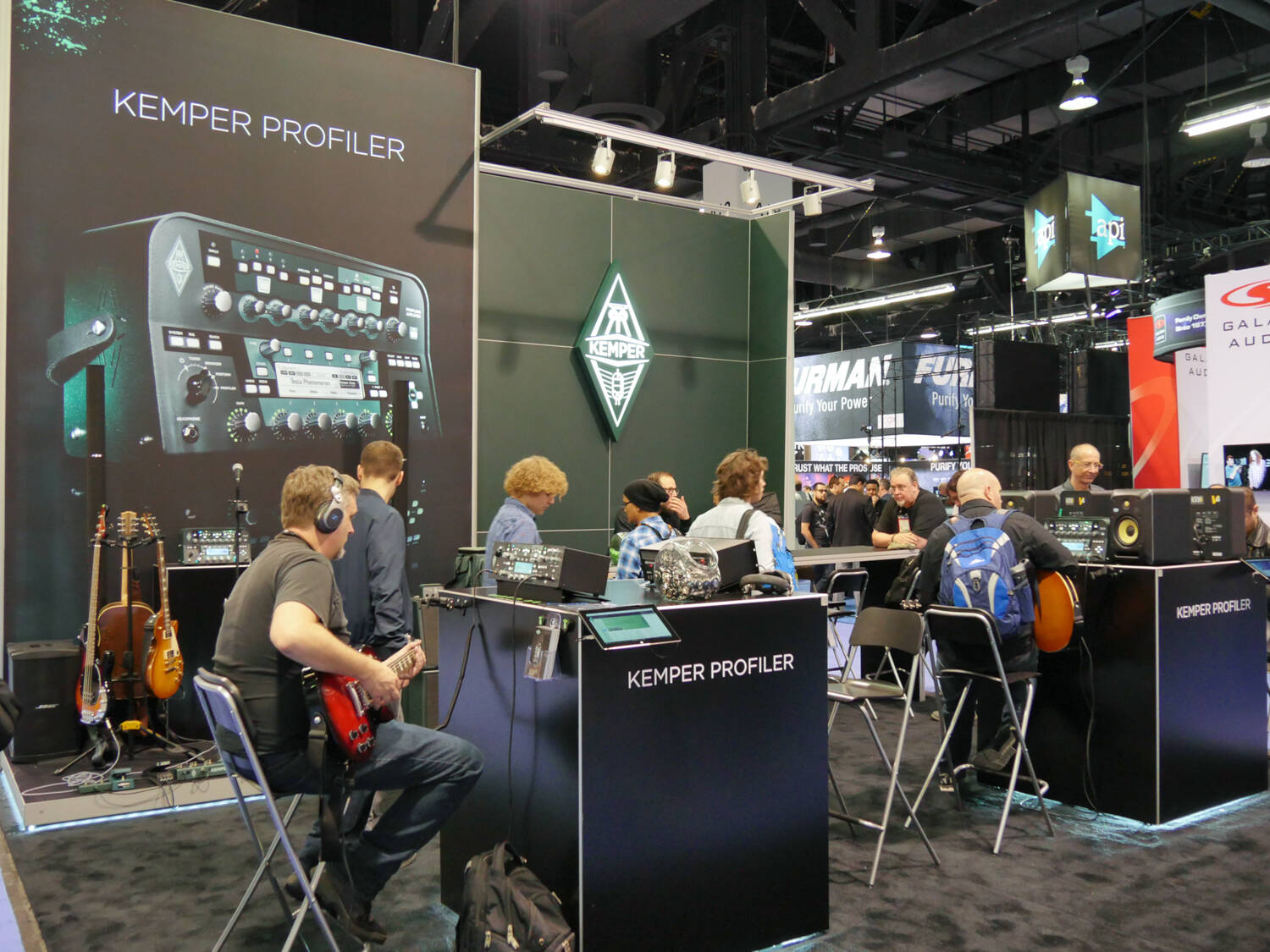 NAMM 2017 Rock oN Show Report Kemper Profiling Amplifier