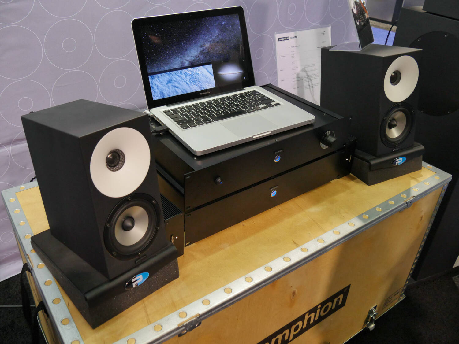 NAMM 2017 Rock oN Show Report Amphion