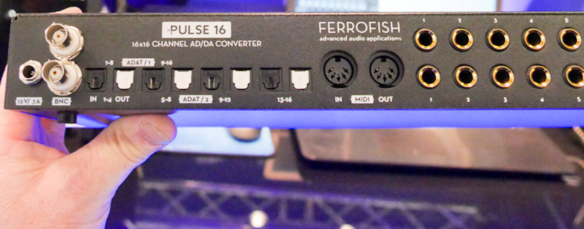 Prolight + Sound 2017 Ferrofish
