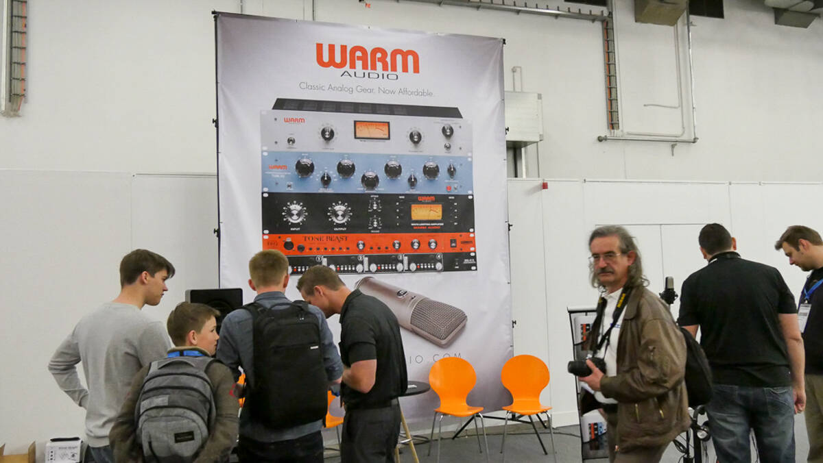 Musikmesse2017 Warm Audio