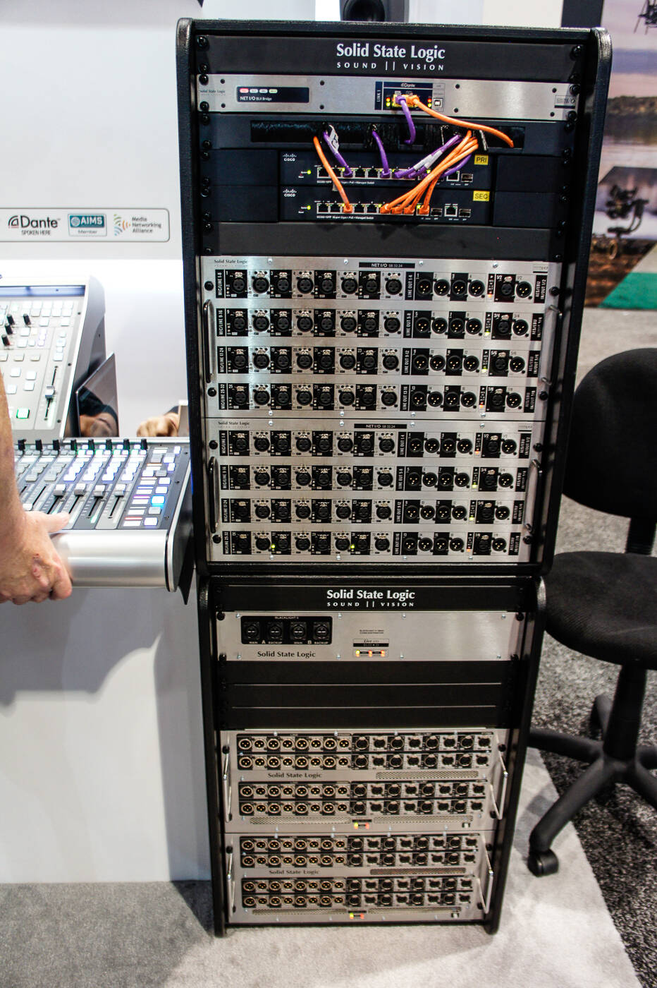 nab2017 Rock oN Solid State Logic