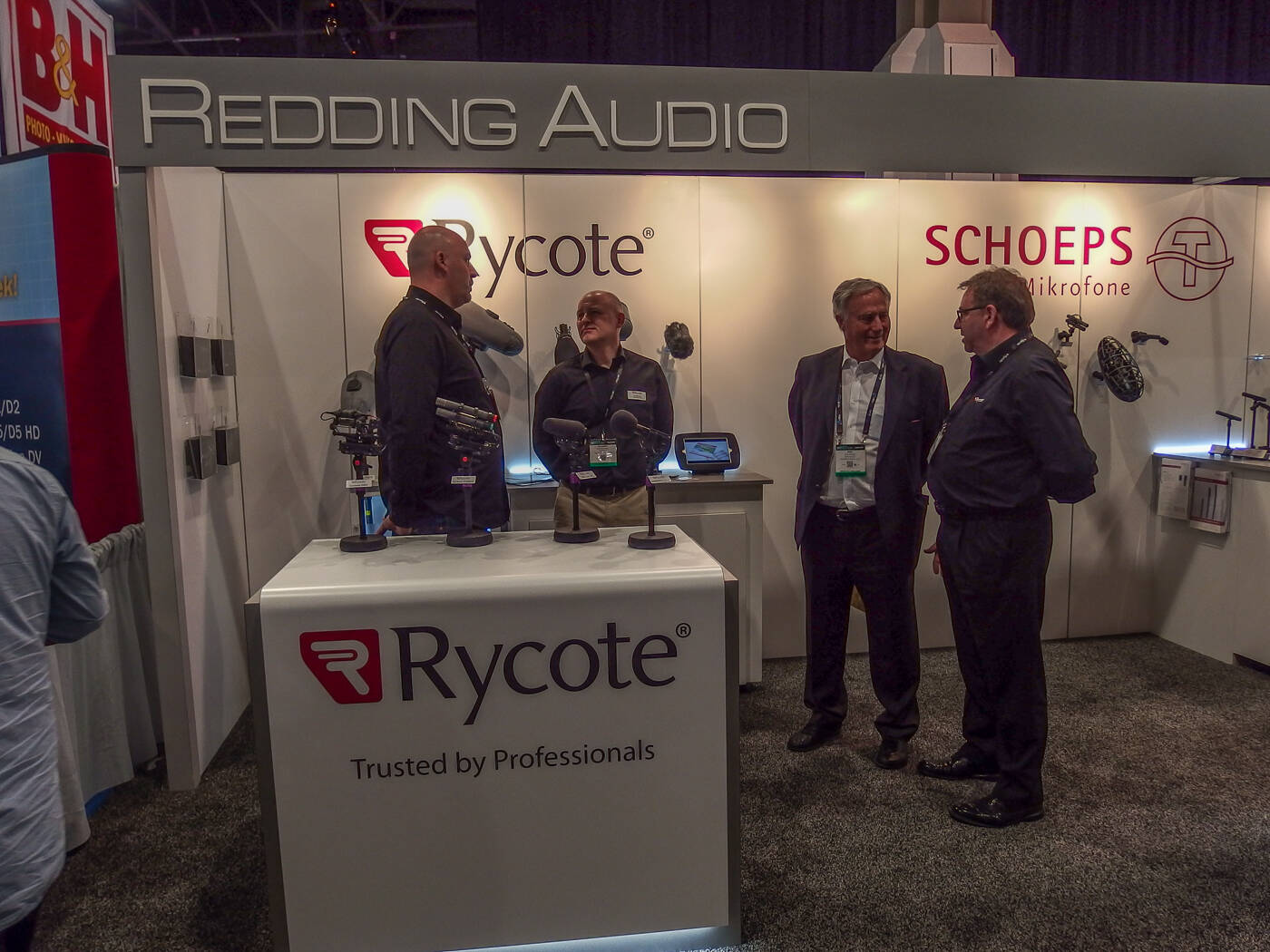 NAB2017 Schoeps Rycote Rock oN