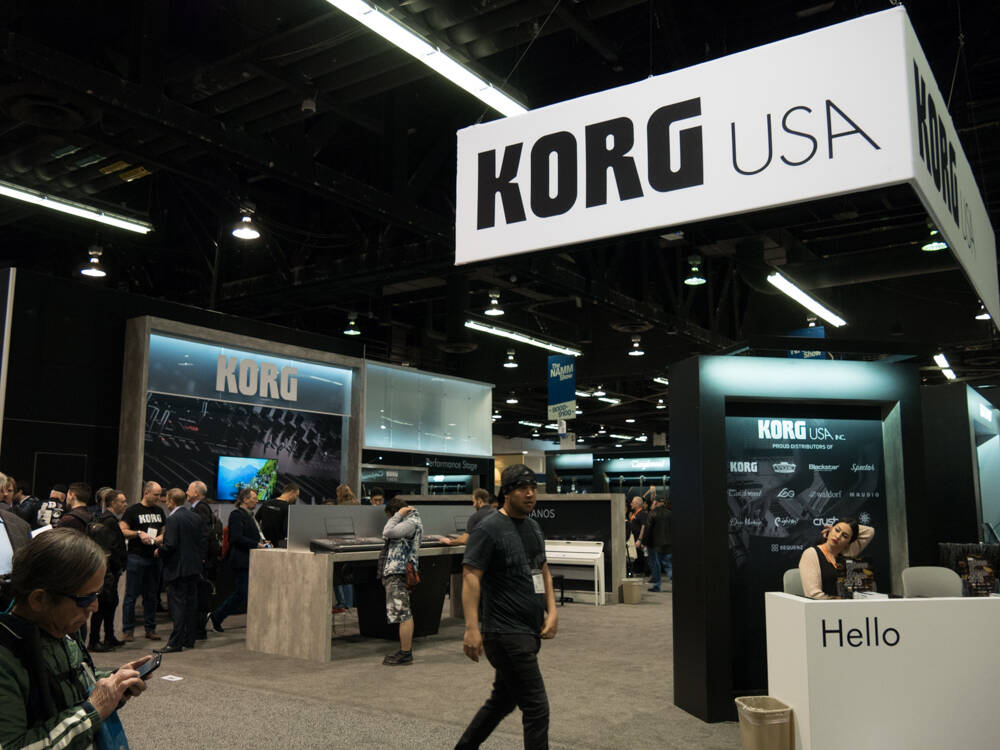 NAMM 2018 DAY1 : KORG | Rock oN Company