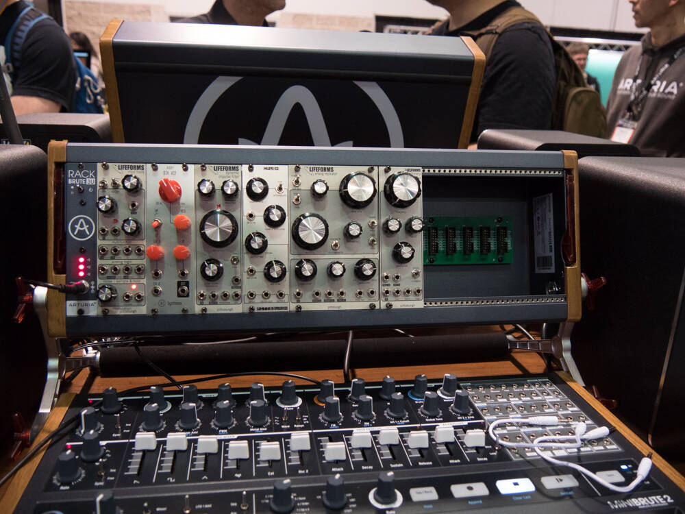 NAMM show report Rock oN  ARTURIA