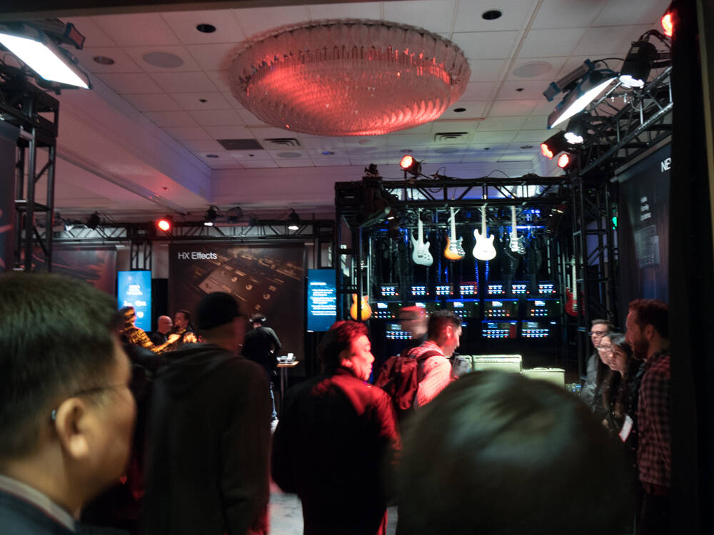 NAMM 2018 Day3 : Line6 | Rock oN Company