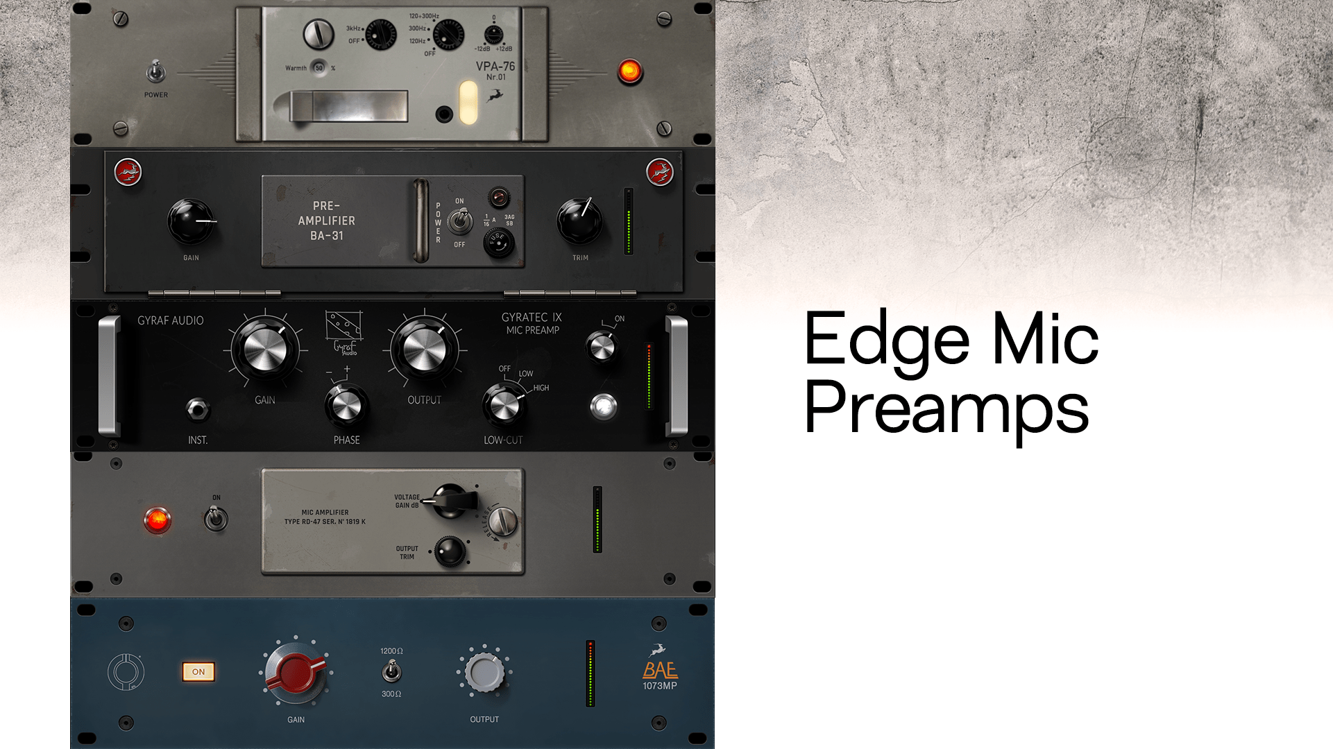 Edge Mic Preamps